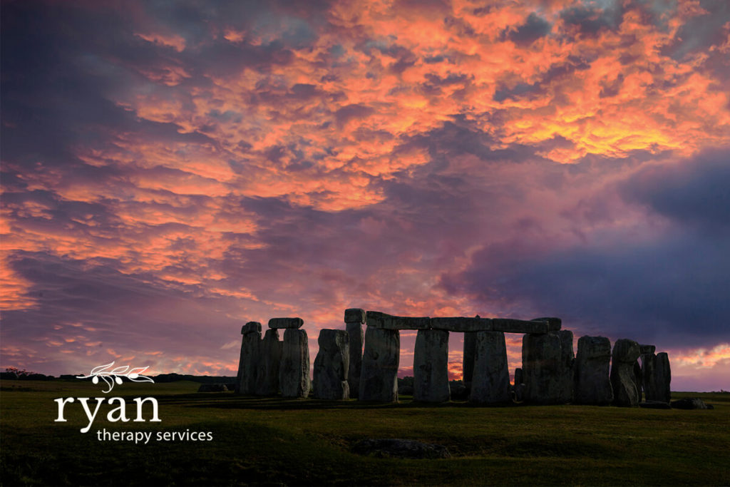 Winter Solstice image of Stonehenge – The Gift of Stillness – Ryan Couples Therapy Tacoma, WA